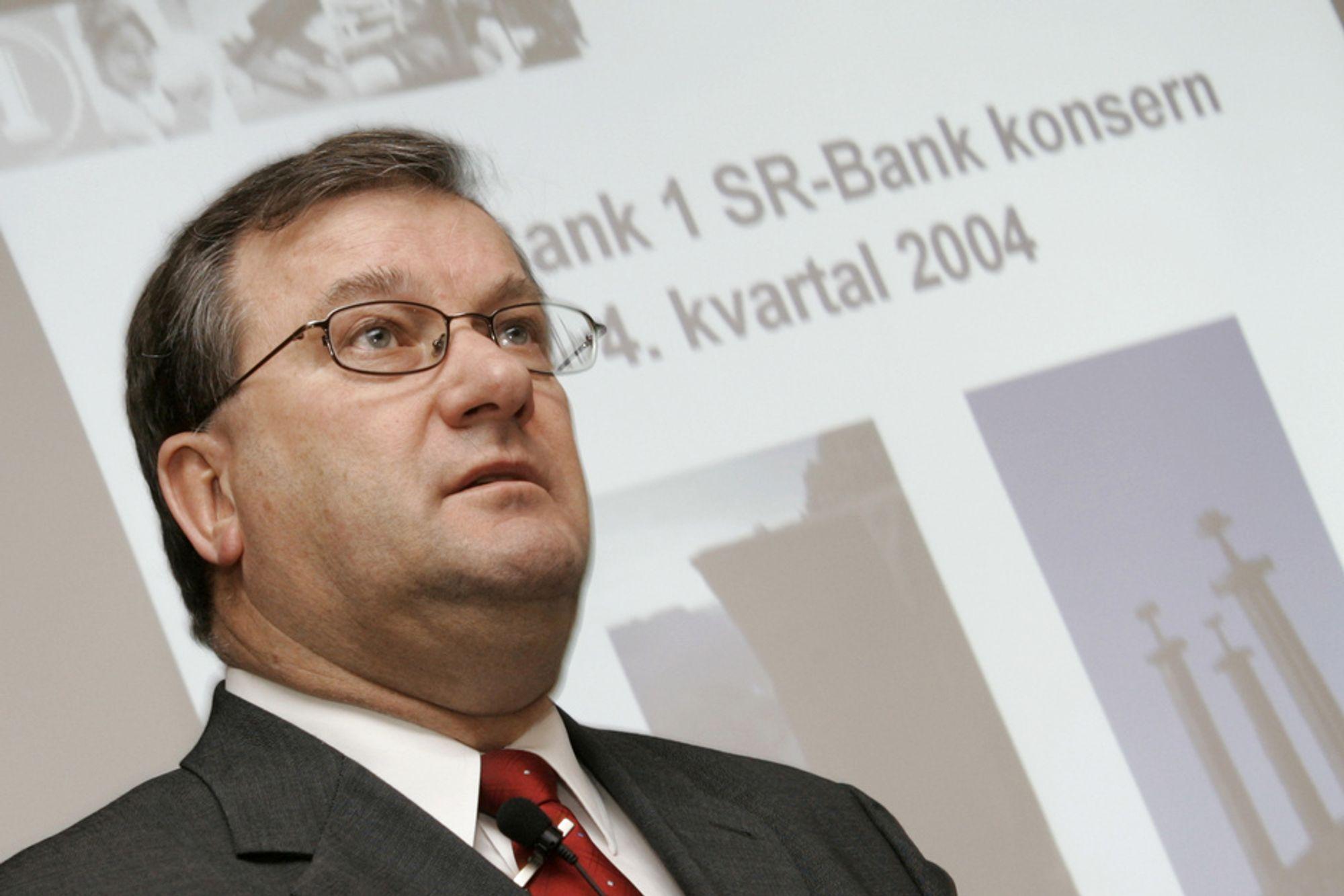 Direktør Terje Vareberg i SR-Bank er innstilt som ny styreleder i Norsk Hydro. Arkivfoto: Heiko Junge / SCANPIX