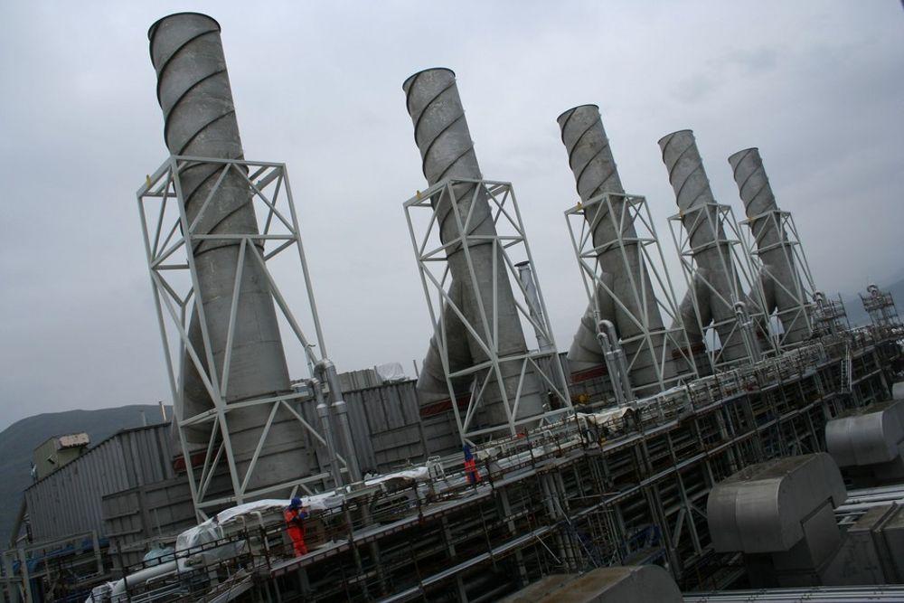 Selvforsynt: LNG-anlegget på Melkøya er konstruert for å være selvforsynt med strøm under normal drift. Gassturbinen fyres med naturgass fra gasstrømmen som fødes til prosessanlegget på Melkøya. Dette er altså et gasskraftverk uten CO2-rensing.