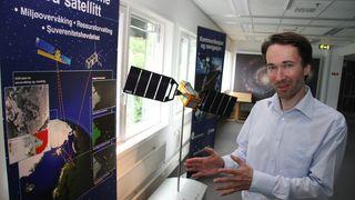Norsk satellitt sikret finansiering