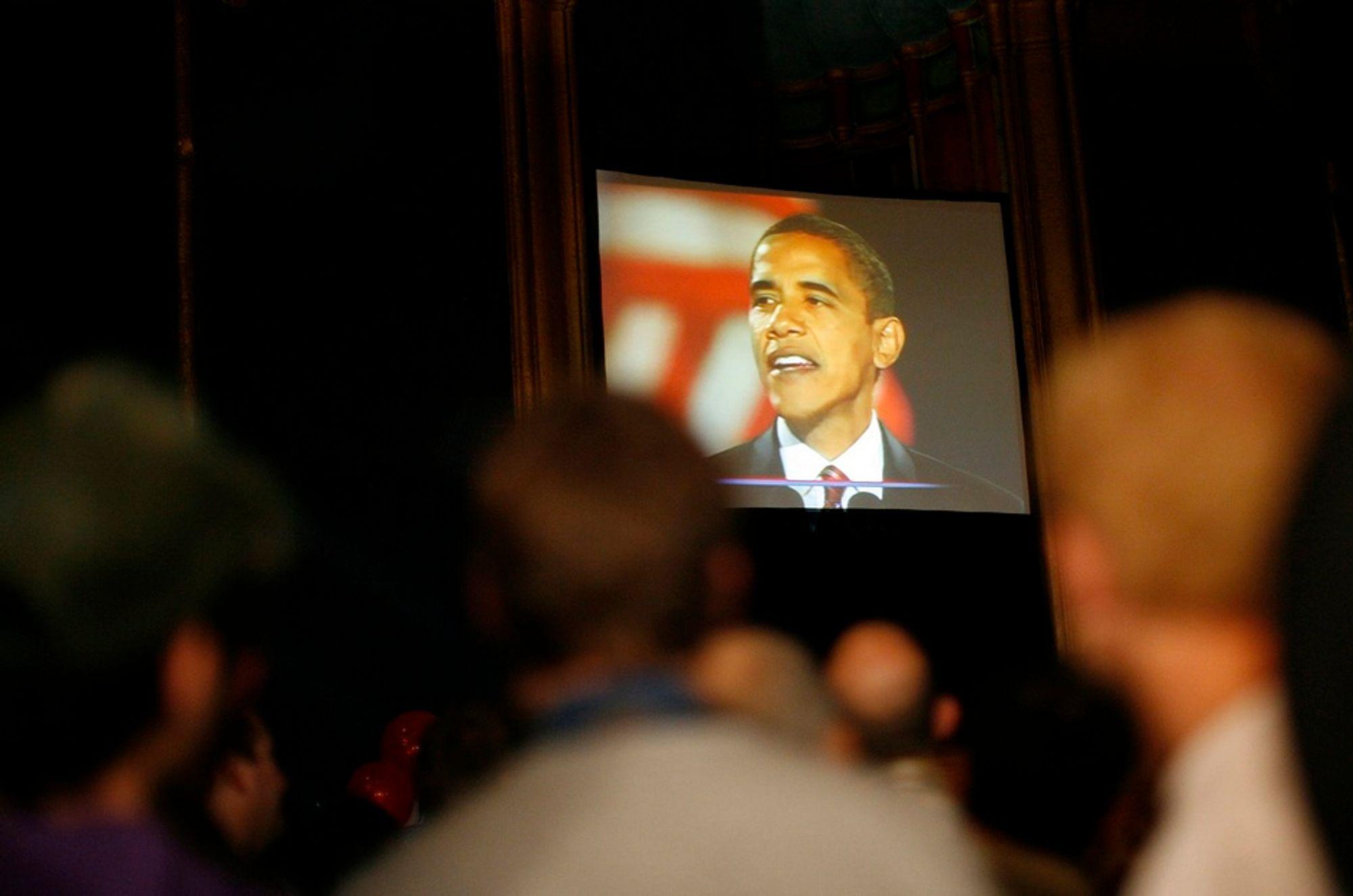 Utnyttet. Barack Obama blir forsøkt utnyttet av datakriminelle i Ukraina.