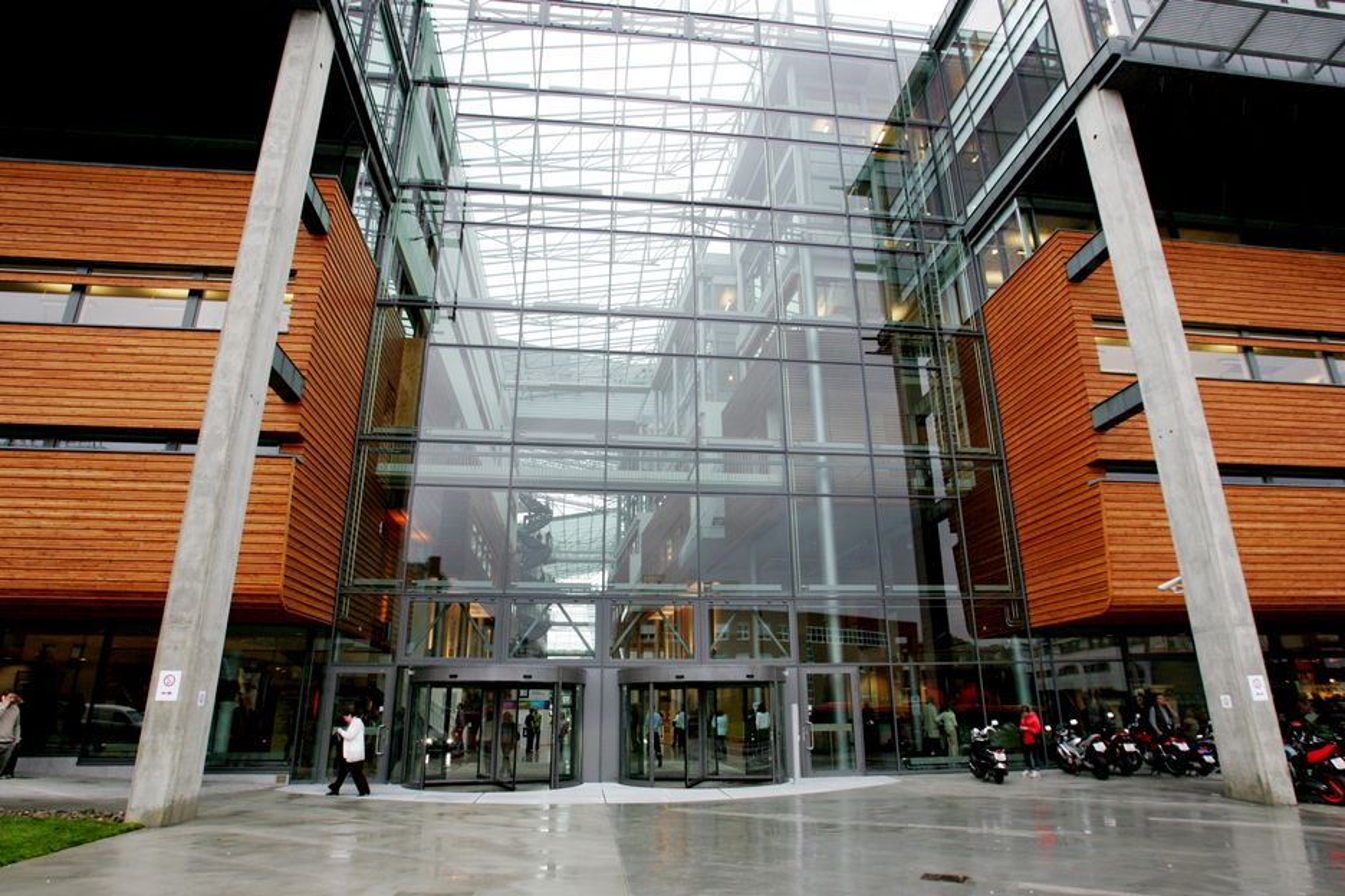 MASTER: Studiestedet er BIs bygg i Nydalen i Oslo.
