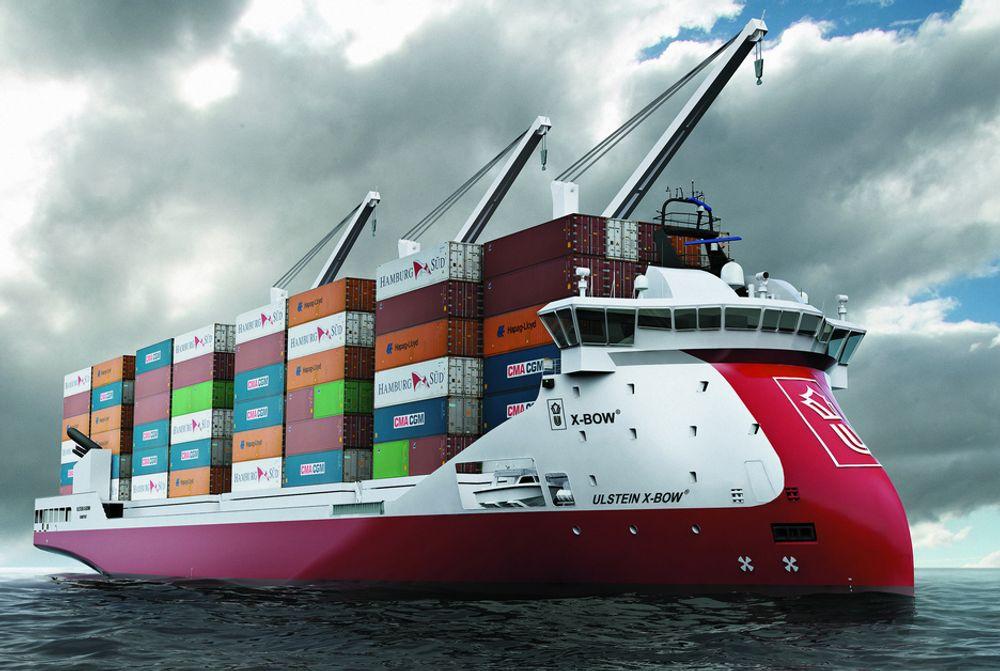 Ulstein X-bow er et godt eksempel på Ulsteins nytenkende skipsdesign. Nå utvider de produktporteføljen med et oppkjøp i Nederland.