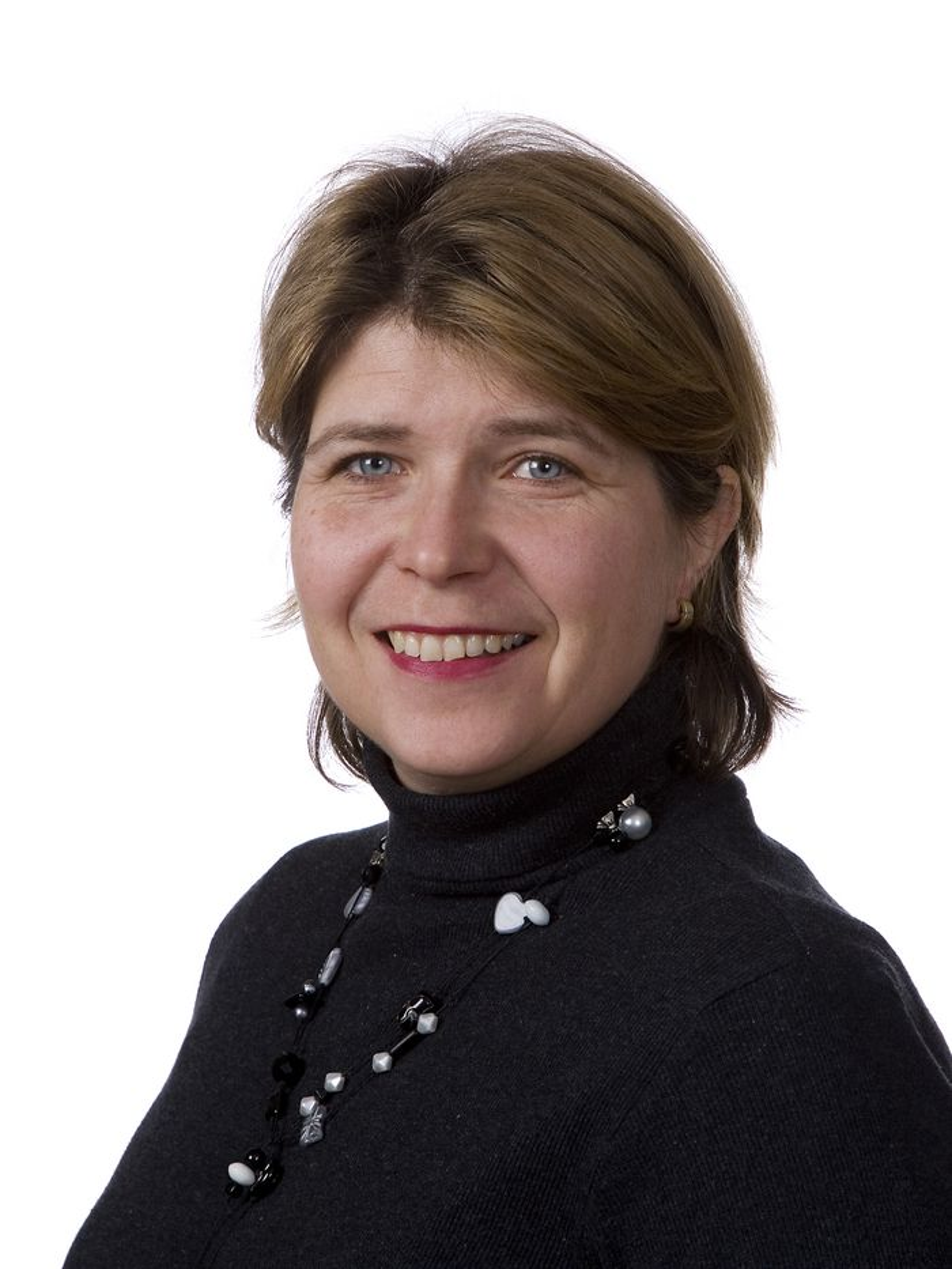 IKKE BIFF: Kommunikasjonsdirektør Nina Sundqvist i Nortura frykter ikke at laboratoriedyrket kjøtt vil erstatte biff.
