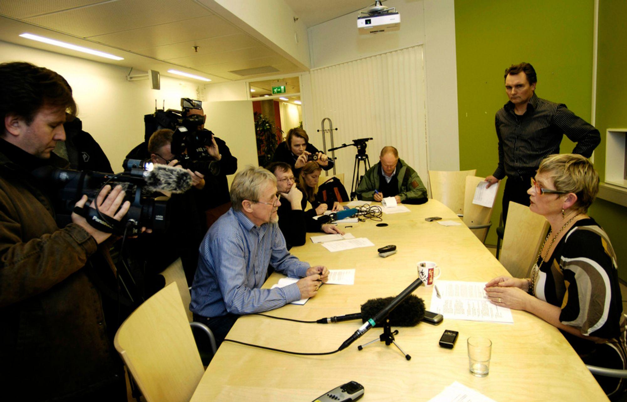 I november i fjor innkalte Eli Arnstad til en pressekonferanse der hun opplyste at hun gikk av som direktør i Enova.