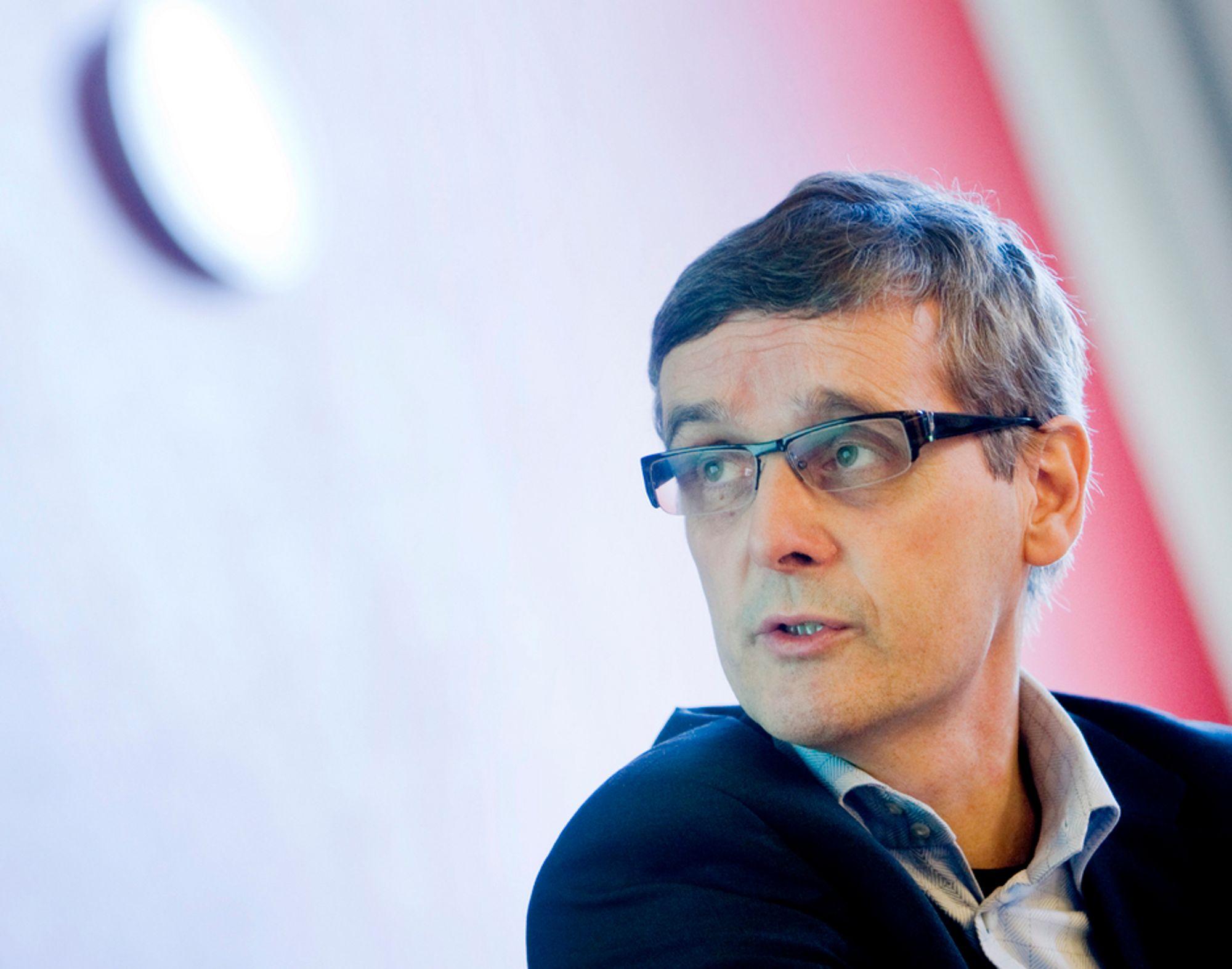 HD I BLIKKET:NRK-sjef Hans-Tore Bjerkaas vil sende OL- åpningssermonien i HD i bakkenettet