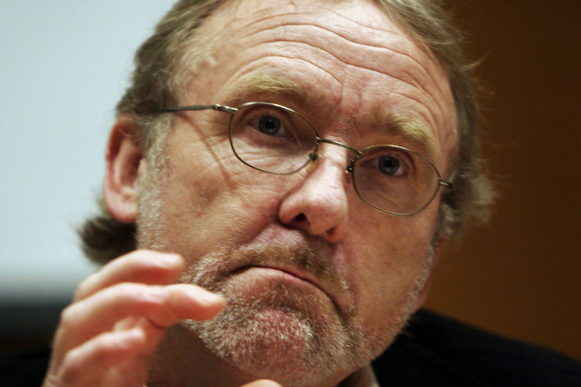 JA: Unio-leder Anders Folkestad vil gjerne øke lønnsforskjellene i kommunene.