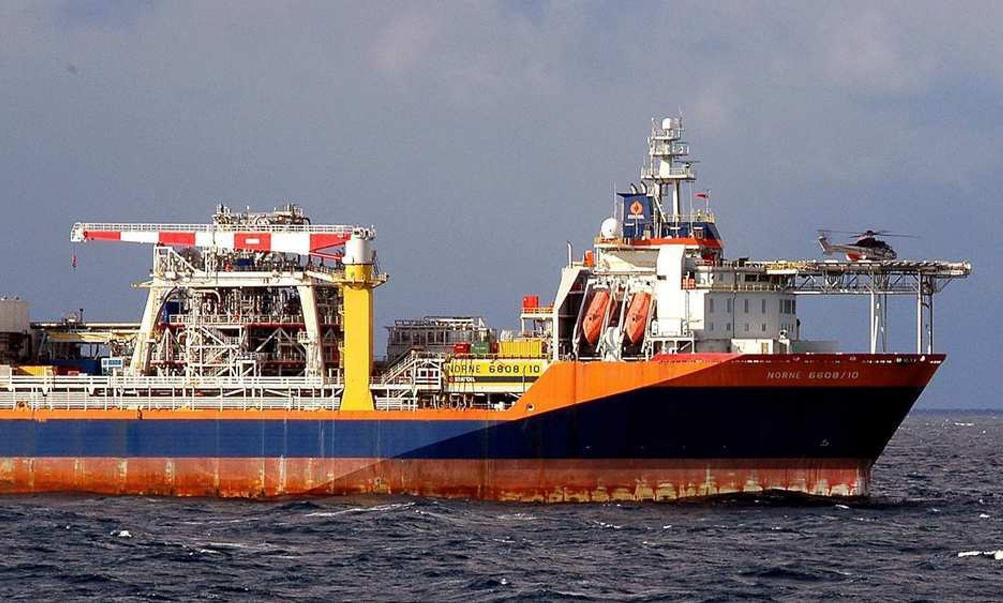 LENGRE LEVETID: På grunn av petroleumsforekomster som er funnet som følge av TFO-tildelinger, har Norne-skipet fått forlenget levetiden med fem år.