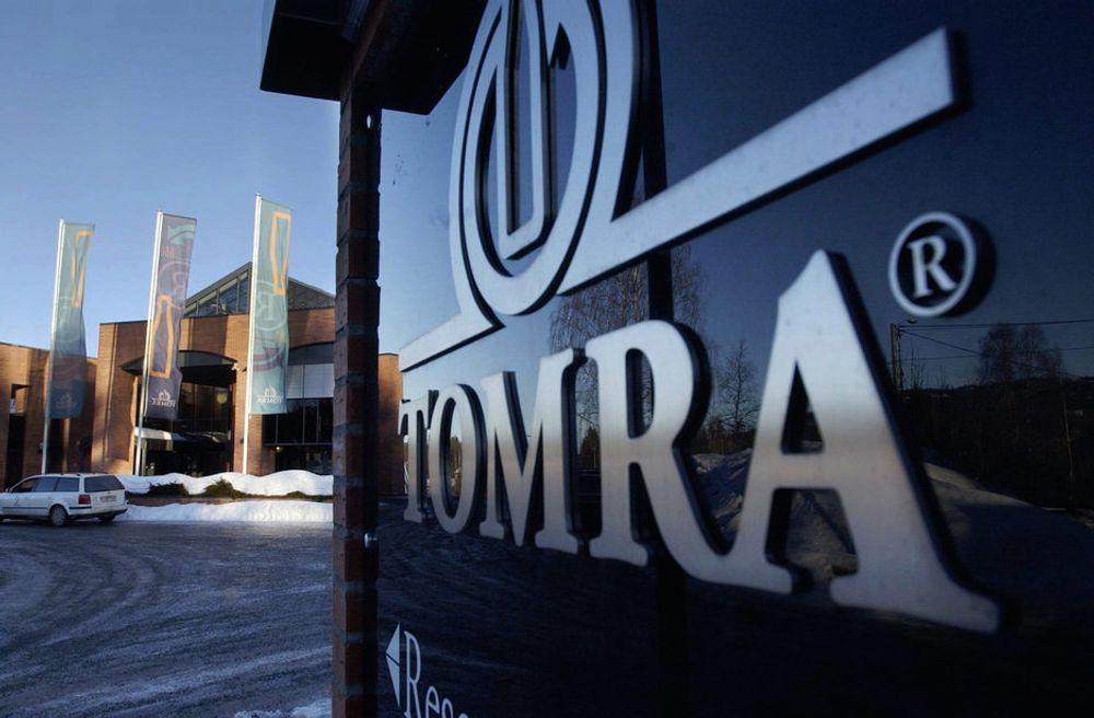 Tomras panteautomater blir nå å finne i tyske bensinstasjoner.