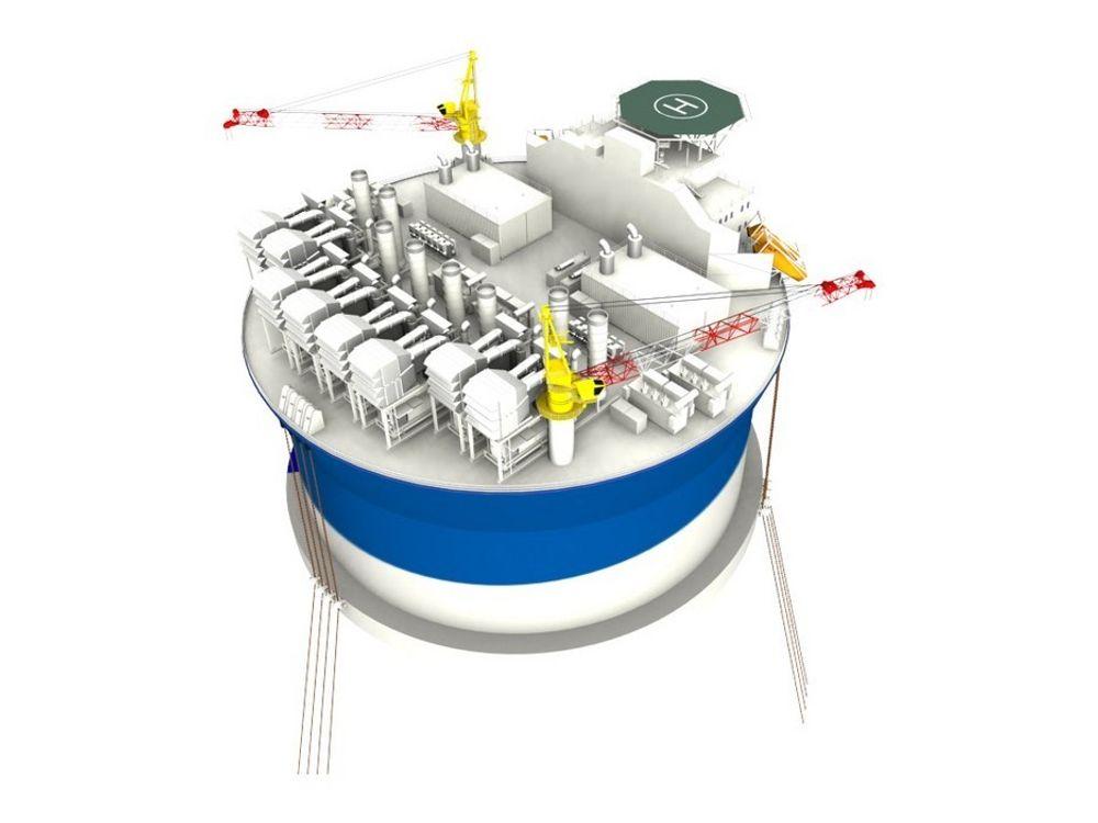 Bream-lisensen foretrekker samme løsning som på Goliat, en sirkelrund FPSO designet av norske Sevan Marine.