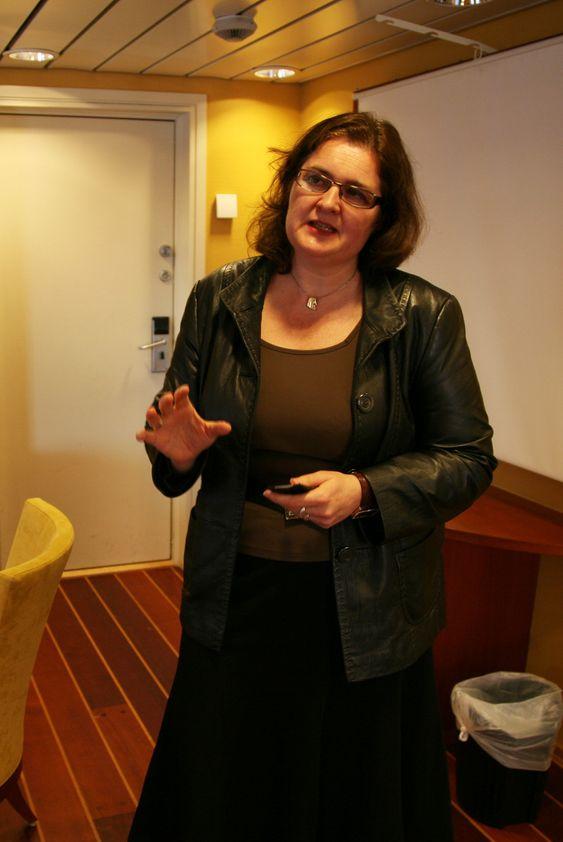 Statsekretær Liv Monica Stubholt, Olje- og energidepartementet.