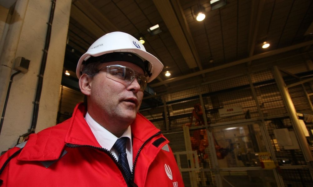 Administrerende direktør Olaf Wigstøl i Hydro Aluminium Structures.