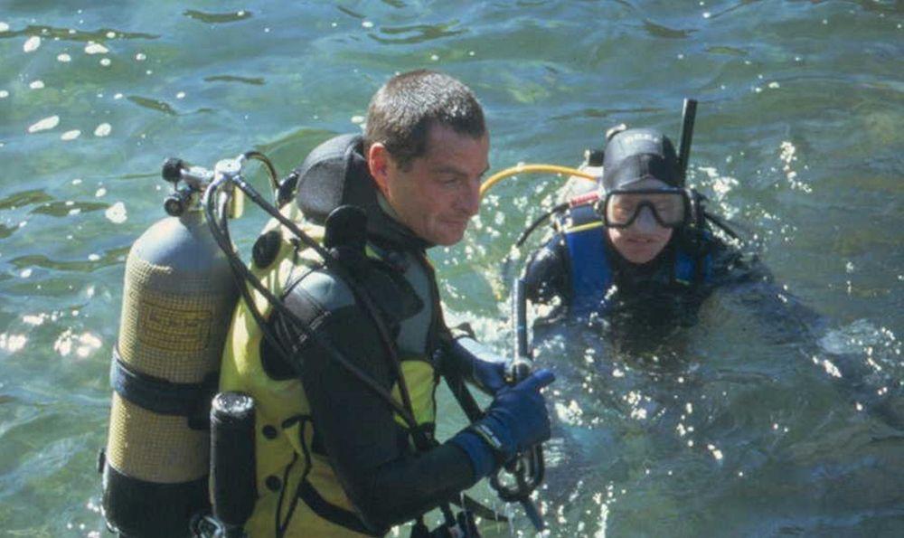 SNIFFING: Også dykkere kan bruke den nye snifferen som avslører metanlekkasjer fra undervannsinstallasjoner. FOTO: SHELL EXPLORATION