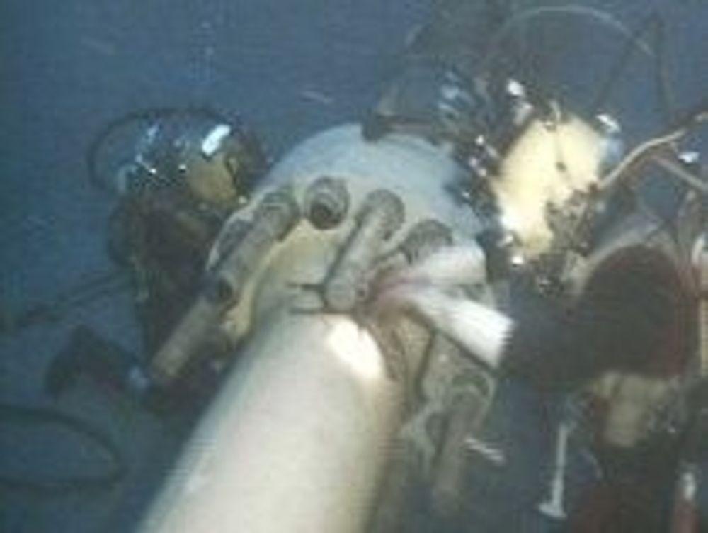 Rørledninger og installasjoner under 180 meter vil ikke kunne repareres av dykkere. I verste fall kan de bli stengt. Foto: Nordsjødykkeralliansen