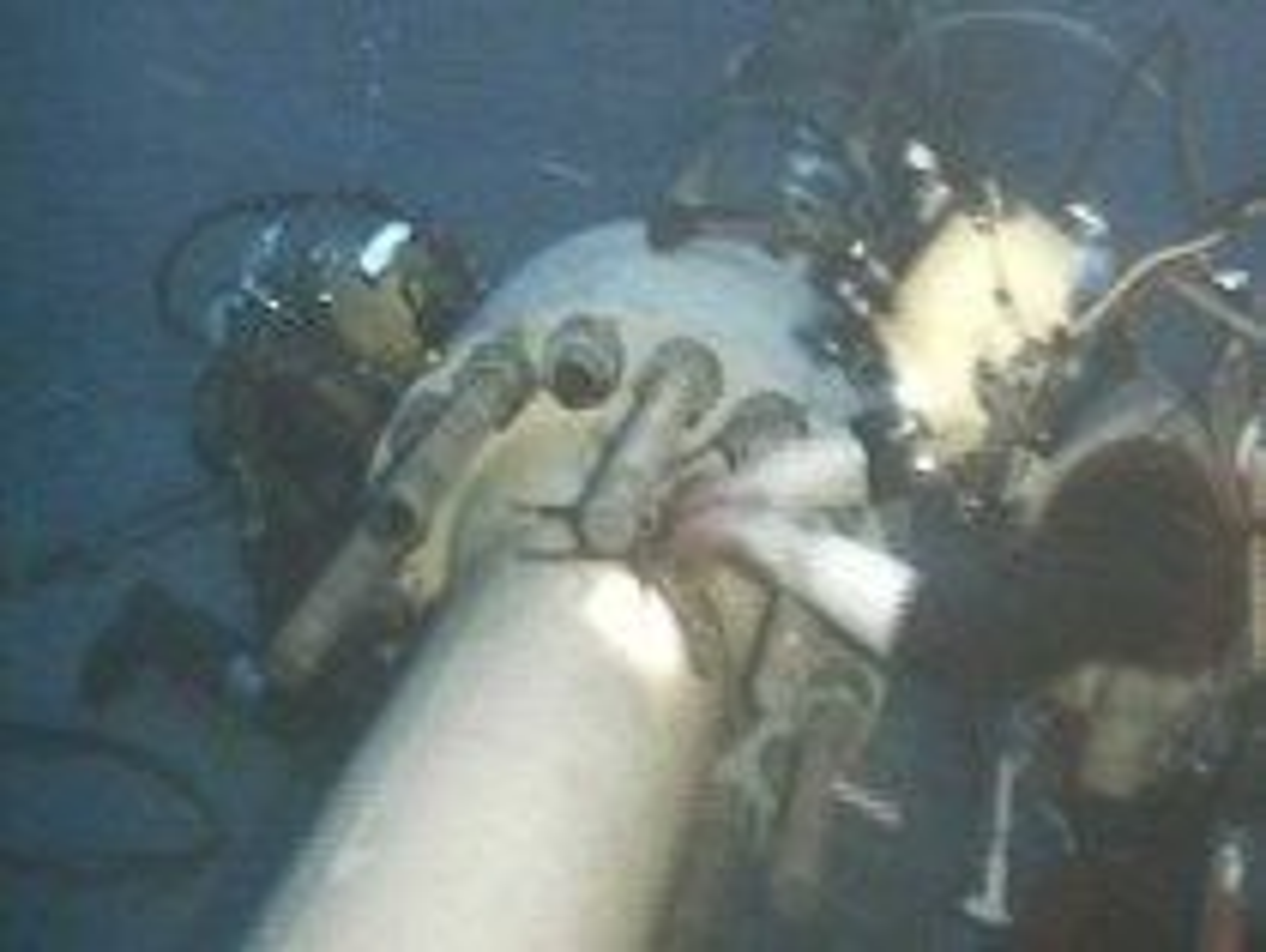 Foto: Nordsjødykkeralliansen Dykking dypdykk i Nordsjøen oljearbeid rørledning havbunn
