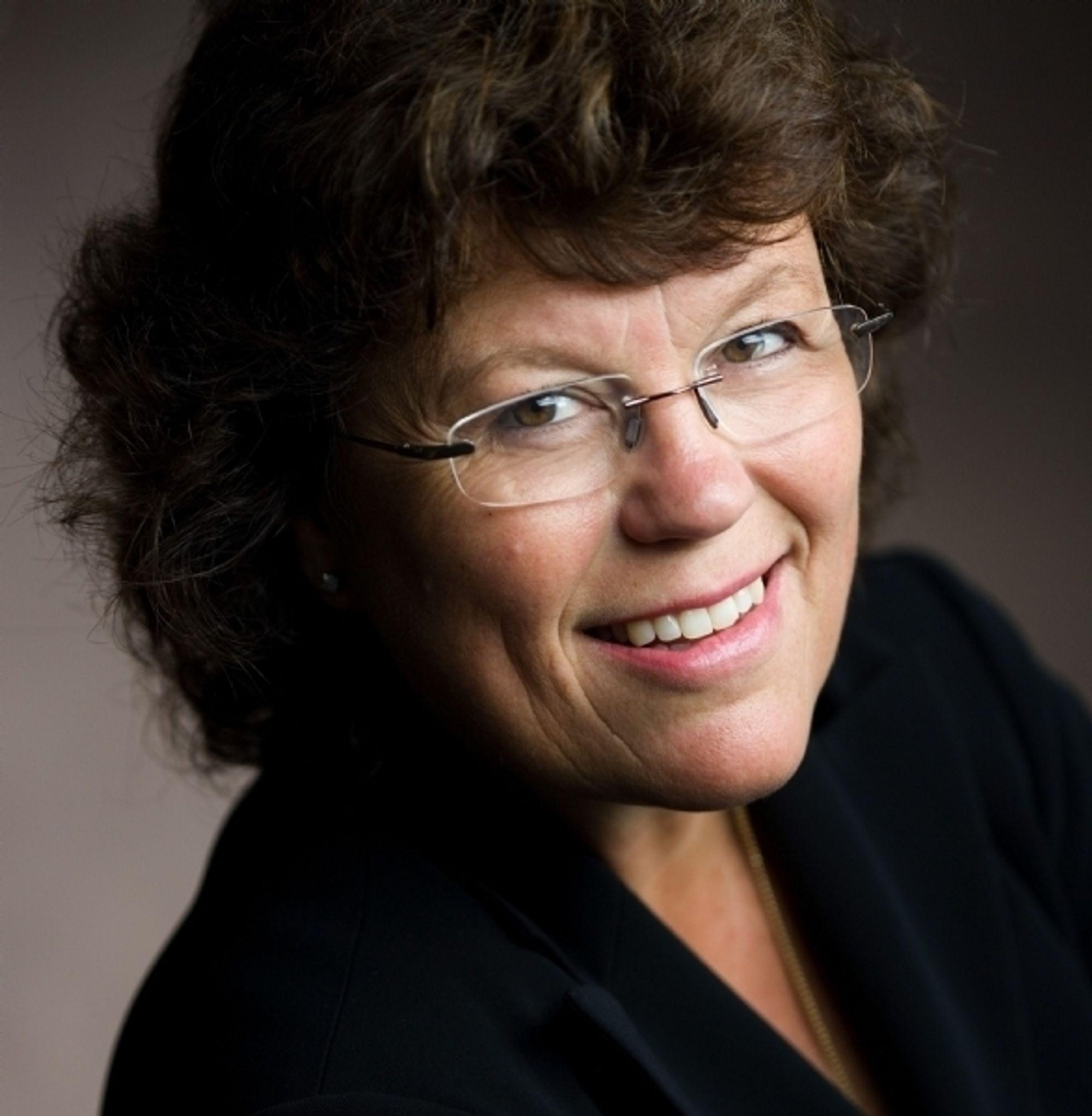 Digital: Forfatter Anne Holt sitter i styret i det digitale forlaget Greenbook.