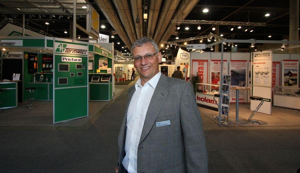 Nils-Erik Magnell er prosjektdirektør for Eliaden 2008.