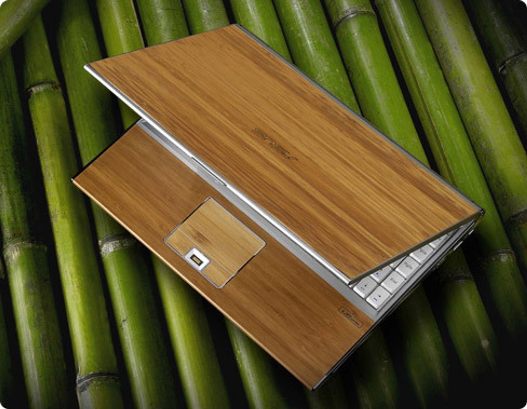 Bambus-laptop fra Asus