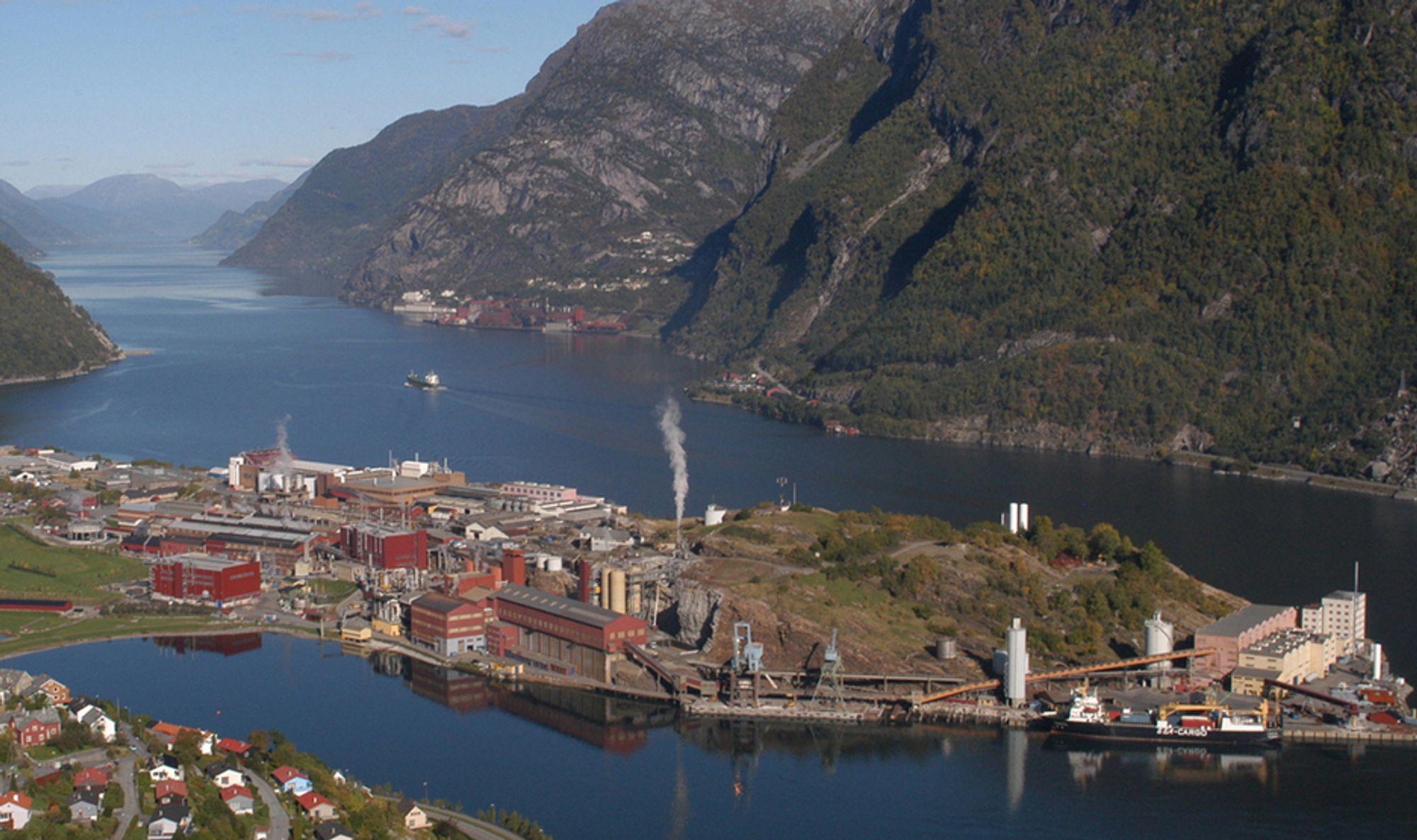 Sinksmelteverket til Boliden Odda øker kapasiteten med 30.000 tonn i 2017.