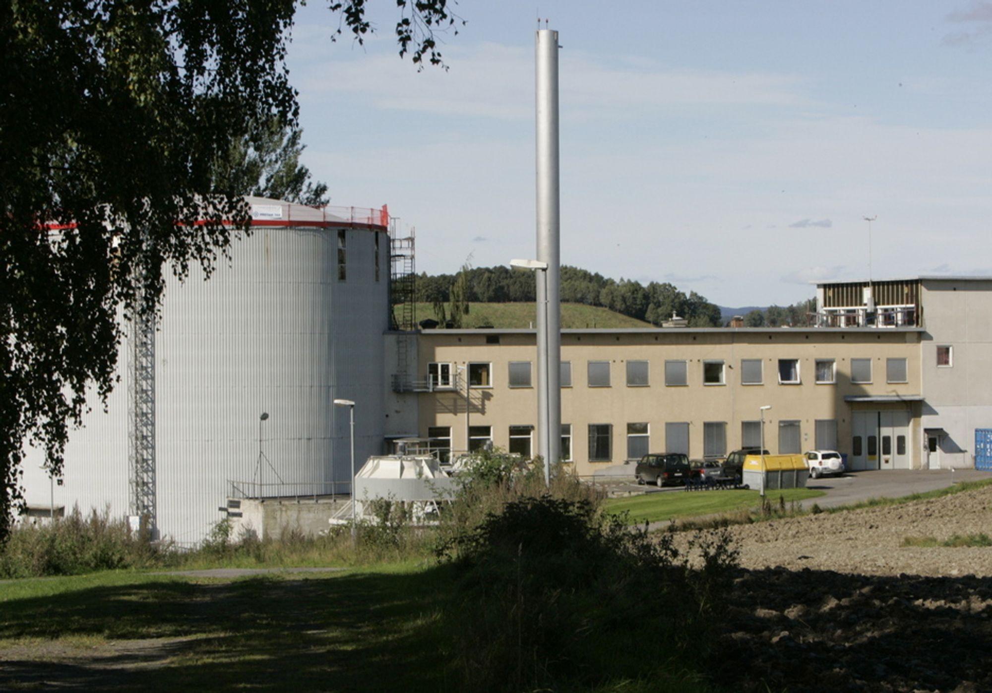 Atomreaktor. Institutt for energiteknikk. Kjeller.
