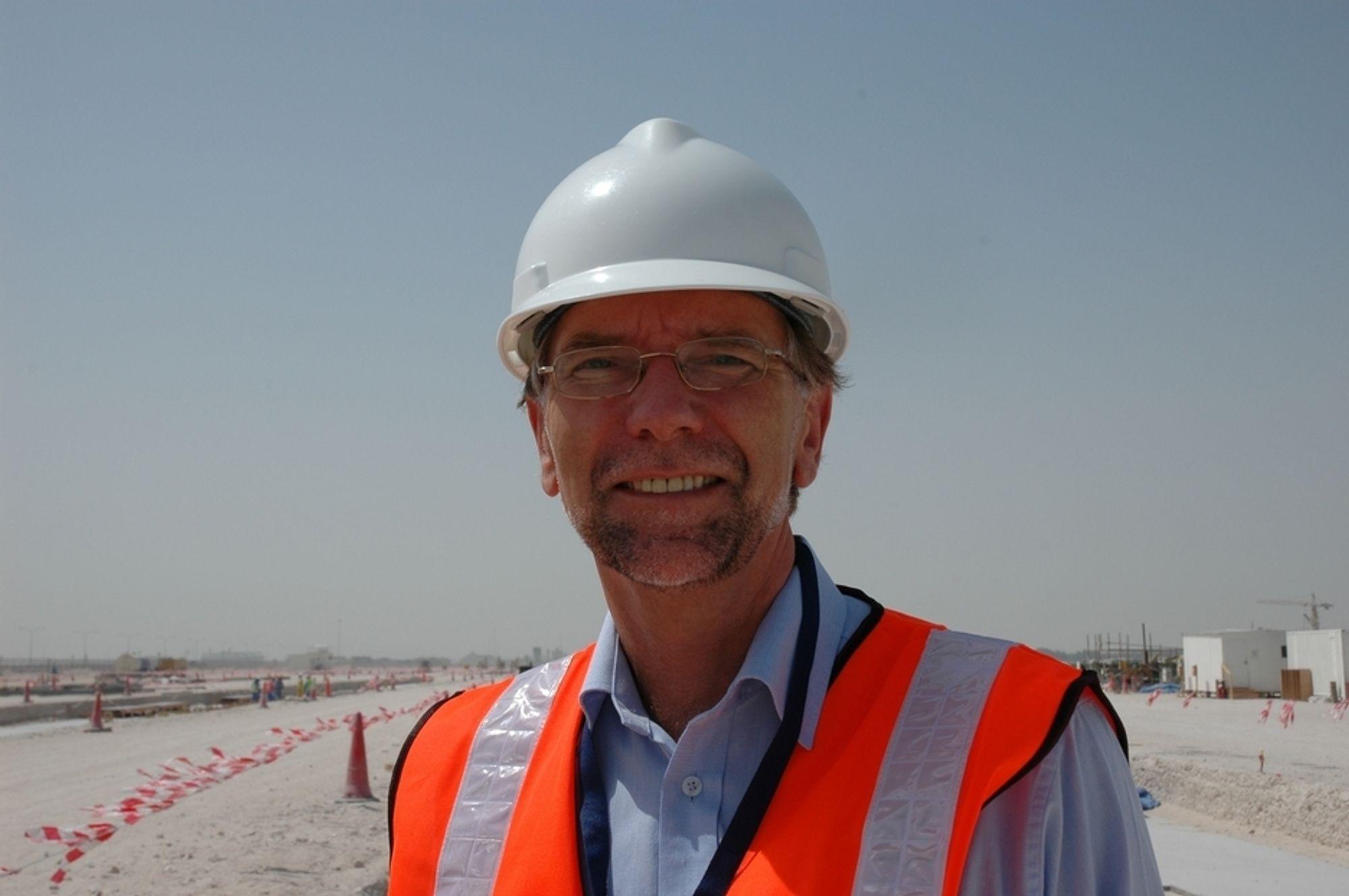 FRA ALUMINIUM TIL SVILLER: Erik Smith, som blant annet har vært prosjektdirektør for Qatalum-prosjektet i Qatar, skal lede den eksterne styringsgruppa for Follobanen og Jernbaneverket.
