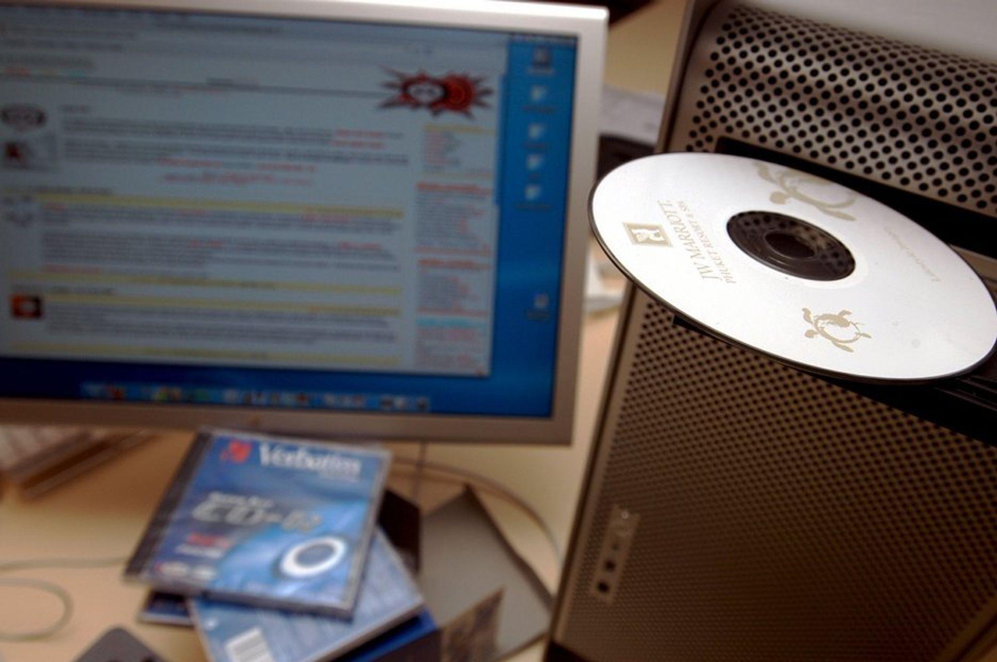 CD- og DVD-plater er fortsatt vårt mest brukte backup-medium.