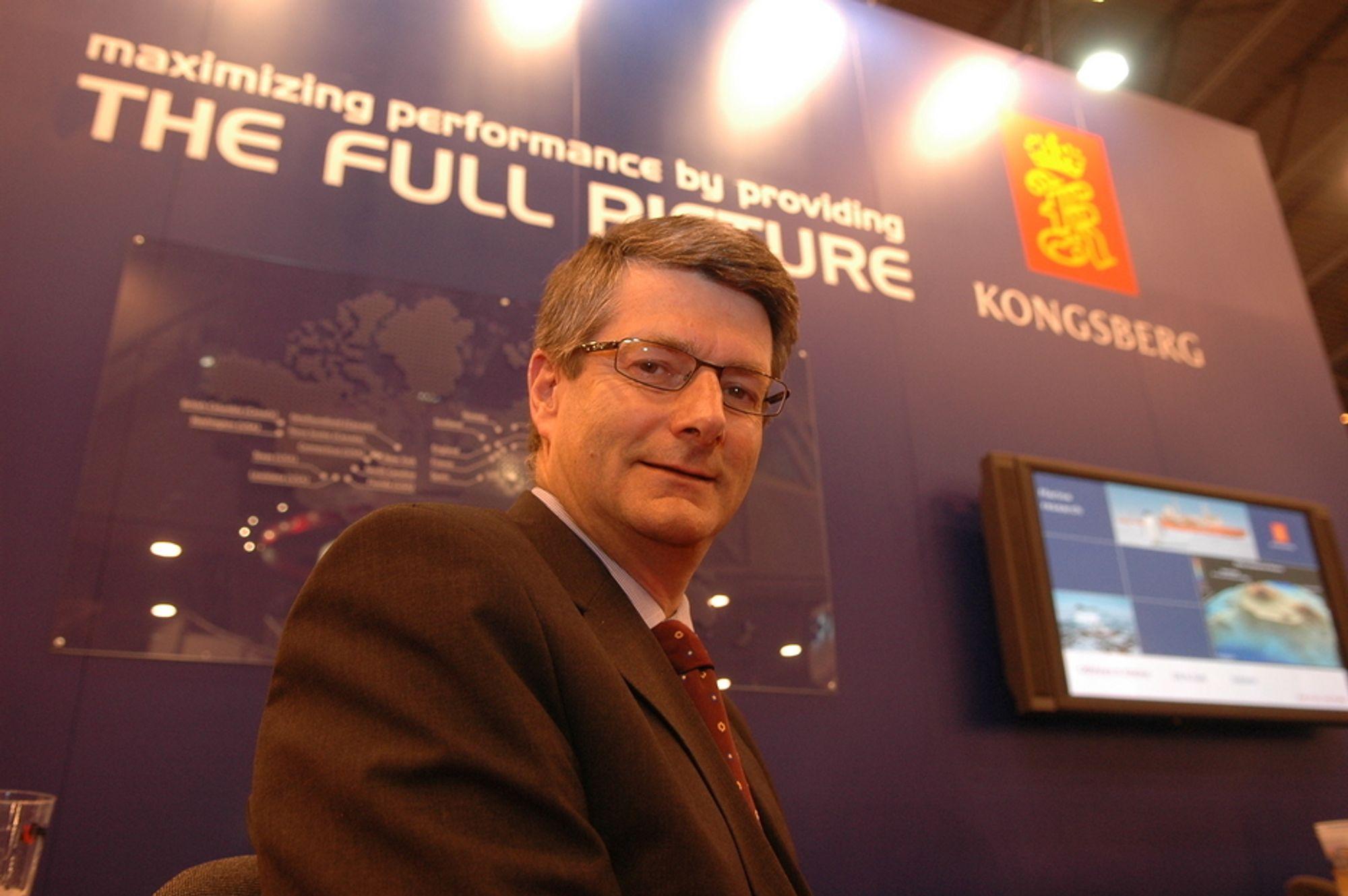 TROR PÅ VEKST: - Vår totale kunnskap gir oss fordeler når vi satser mot FPSO-markedet , tror Torfinn Kildal.