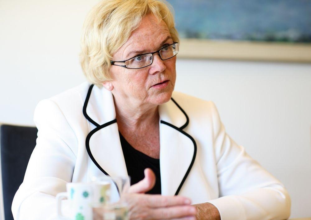 Kommunal og regionalminister Magnhild Meltveit Kleppa