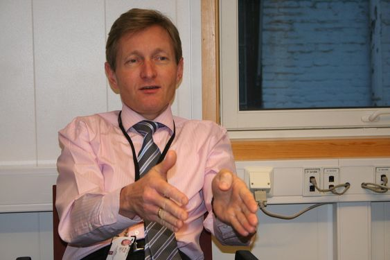 Pål Bjørseth, prosjektleder for nye kampfly i Forsvarsdepartementet
