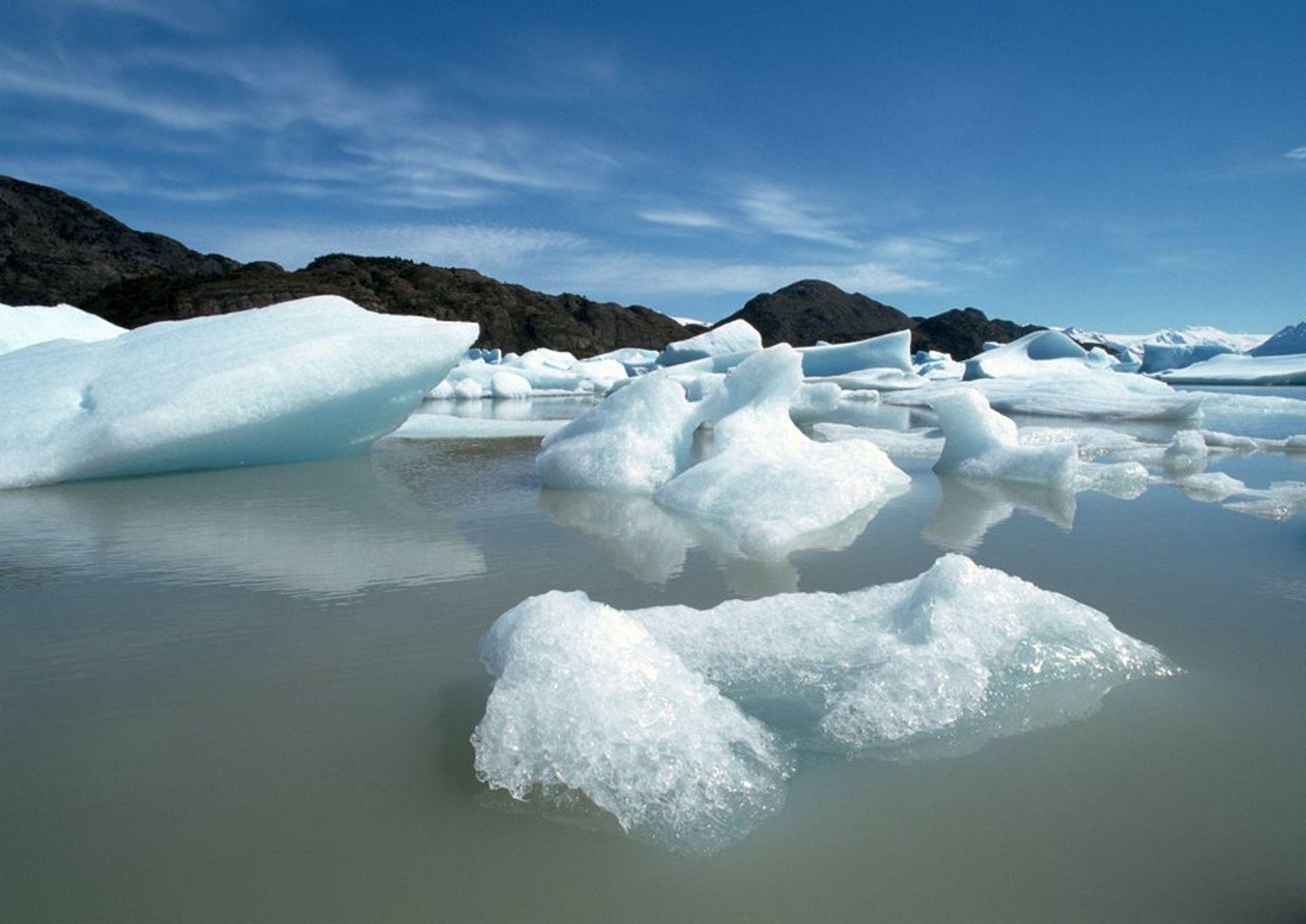 klimaendring, issmelting, temperaturstigning, klima