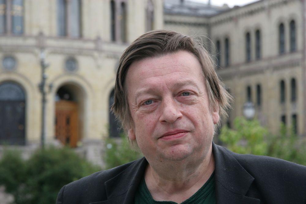 MÅ UT AV VIND: Oljeanalytiker Hans Henrik Ramm mener vindkraft ikke blir lønnsomt for Statoil.