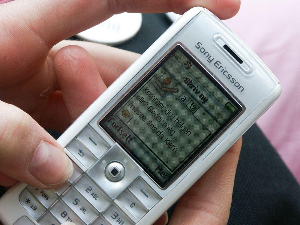 Frekke flørte via sms