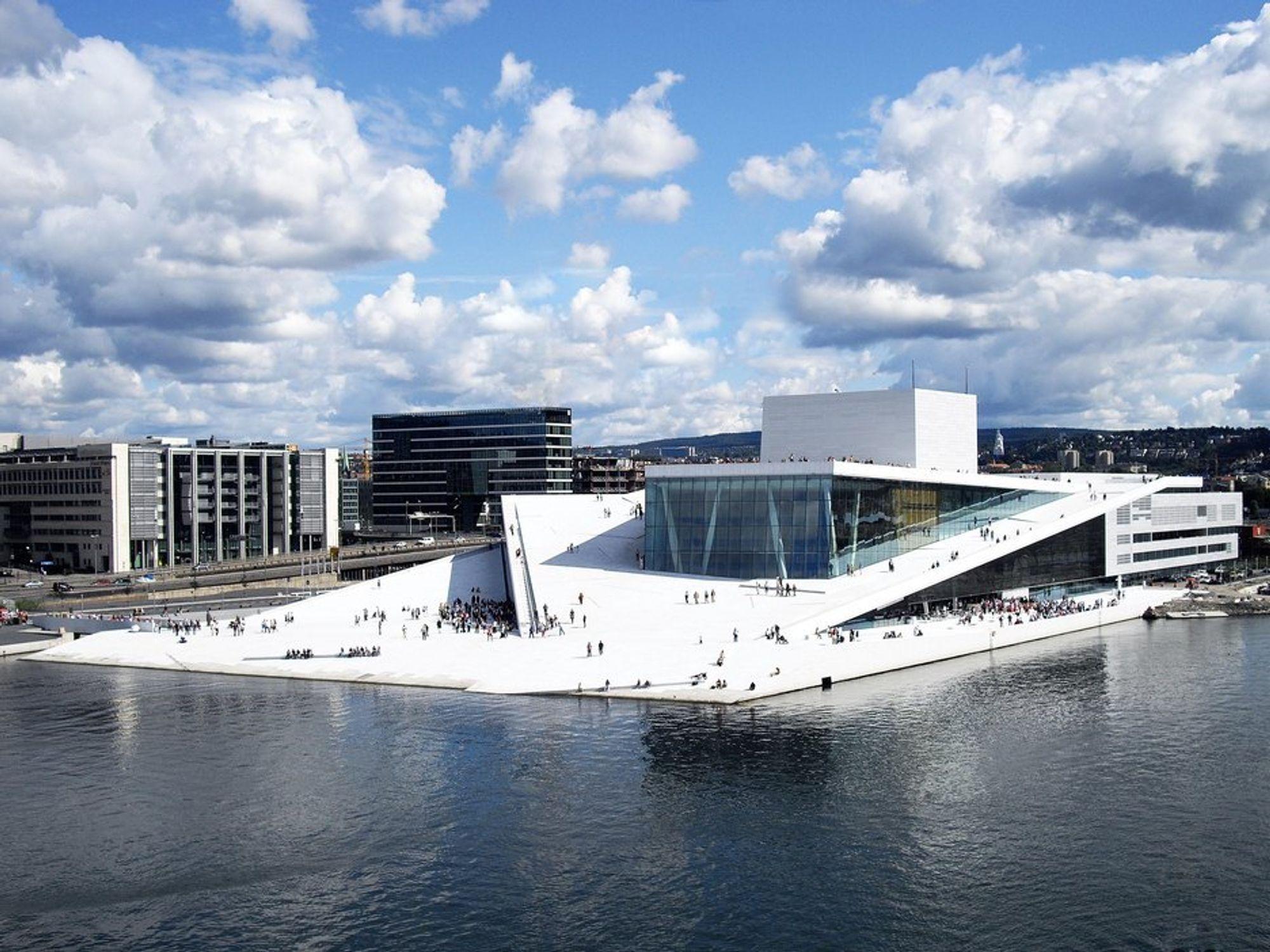 Operaen i bjørvika og arkitektene Snøhetta bel beæret med Årets kulturbygg i den prestisjefylte konkurransen World Architecture Festival.