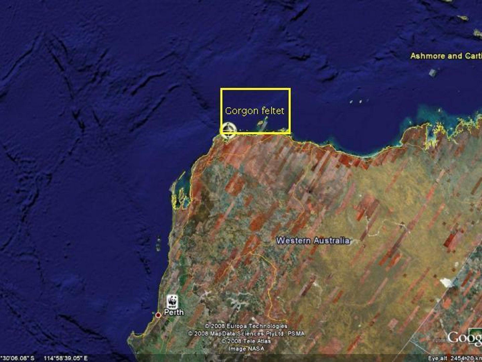 FRA ARKTIS TIL TROPENE: Snøhvit-teknologien skal brukes når Gorgon-feltet skal bygges ut i Australia.