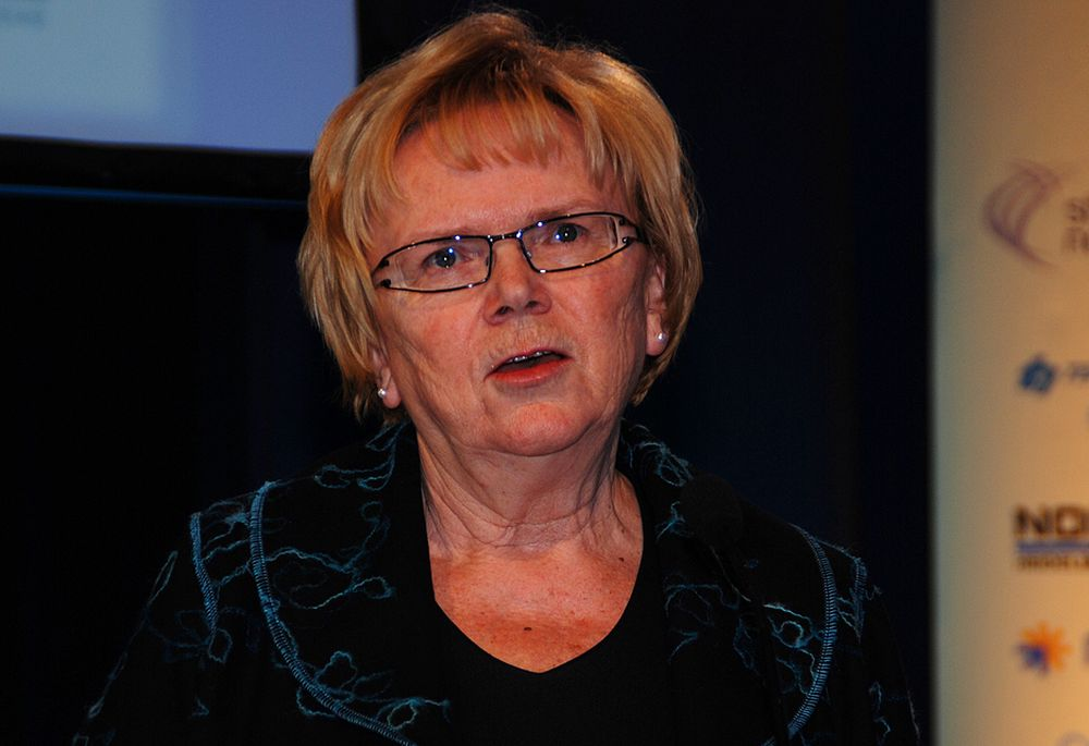BEDRING: Kommunal- og regionalminister Magnhild Meltvedt Kleppa håper den nye plan- og bygningsloven skal løse flere av næringens problemer.