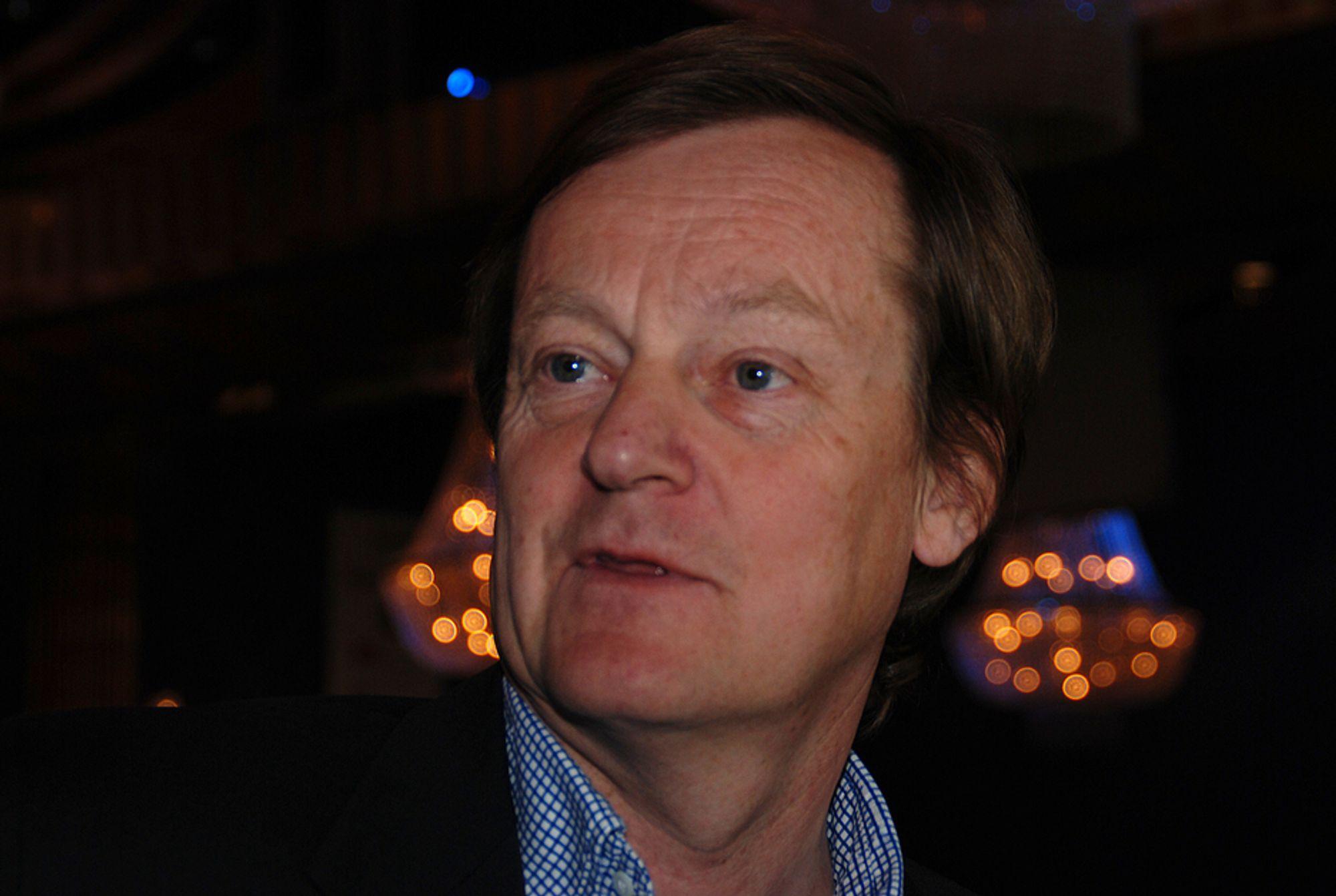 VIL SAMLE: Styreleder Peder Backe i BNL ser helst at byggenæringen samler seg, mens de andre organisasjonene er mer skeptiske.