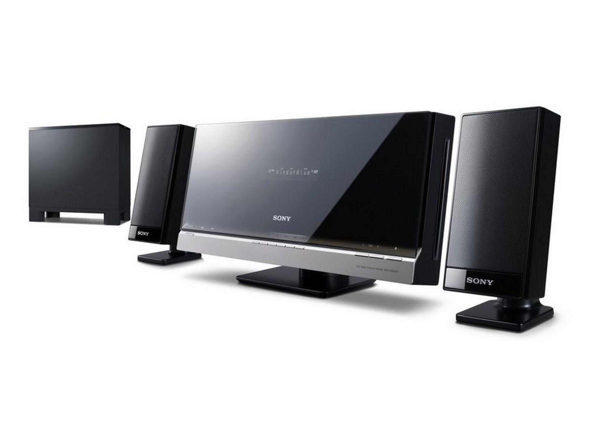 DAV-F200 BRAVIA hjemmekinosystem fra Sony