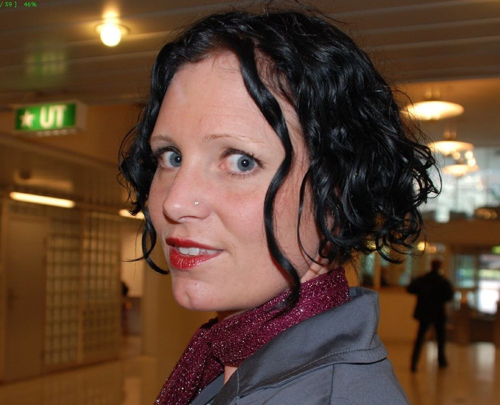 SAVN: Guri Størvold (32), statssekretær i Olje- og energidepartementet, har gode minner om lyriske morgenstunder med NRKs Knut Olsen.