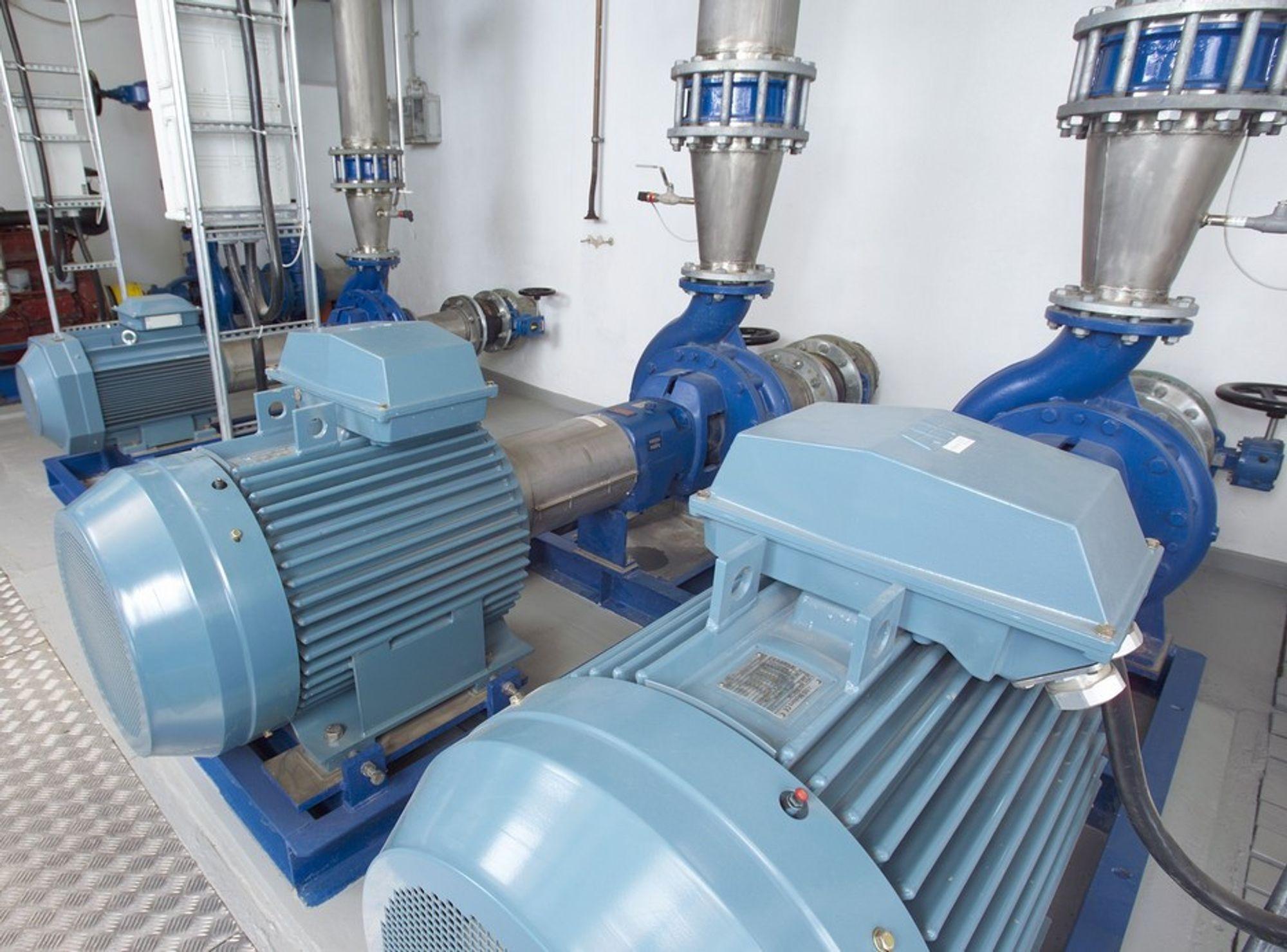 Program for pumpestyring
