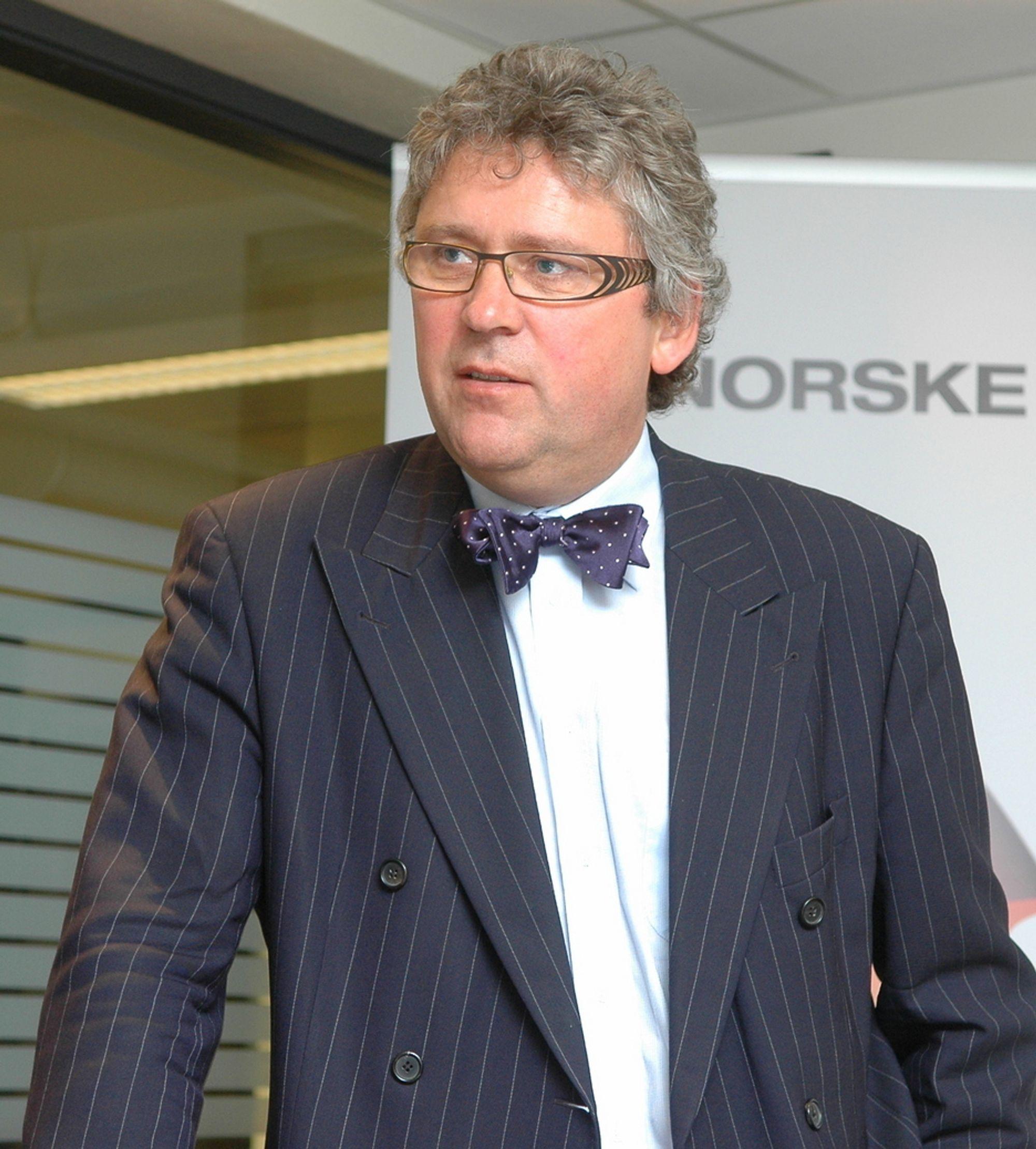 GIR GOD ØKONONMI: - Vi har levert inn en PUD som er lønnsom og som vil bidra til å åpne en helt ny oljeprovins på sokkelen, sier Erik Haugane.