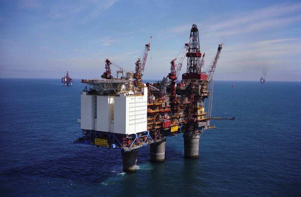 Statoil har gjort et nytt funn ved Gullfaks Sør-feltet i Nordsjøen. Her Gullfaks A.