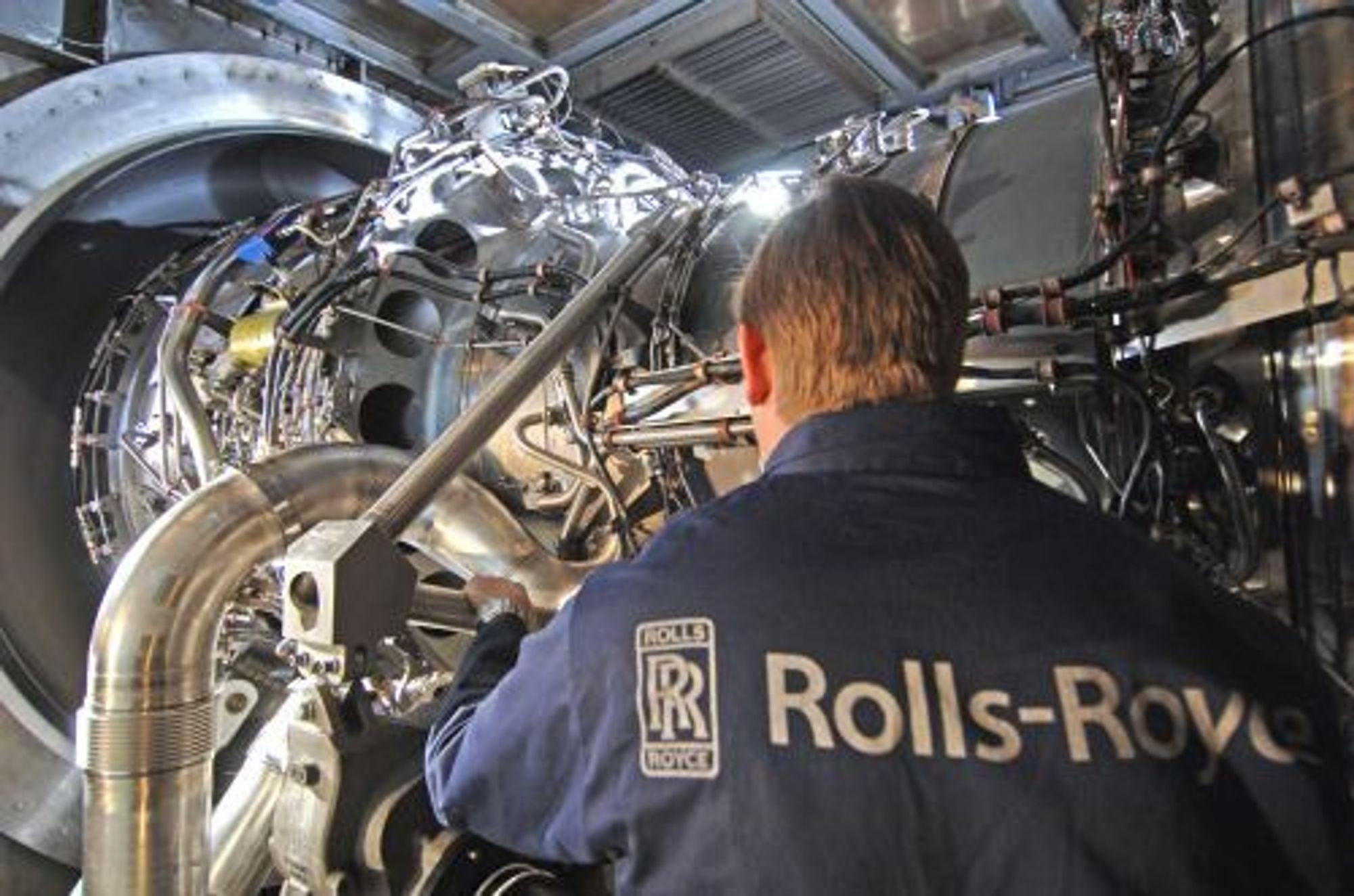 Rolls-Royce designer ro-ro-skip som skal gå på naturgass. Dermed reduseres utslippene betraktelig.