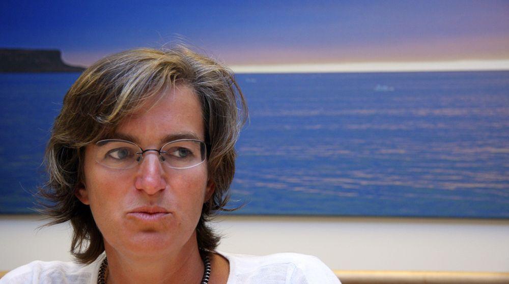 DYRERE: SFT-direktør Ellen Hambro tror kvoteprisen vil ligge på 40 euro i 2020, rundt tre ganger så mye som i dag.