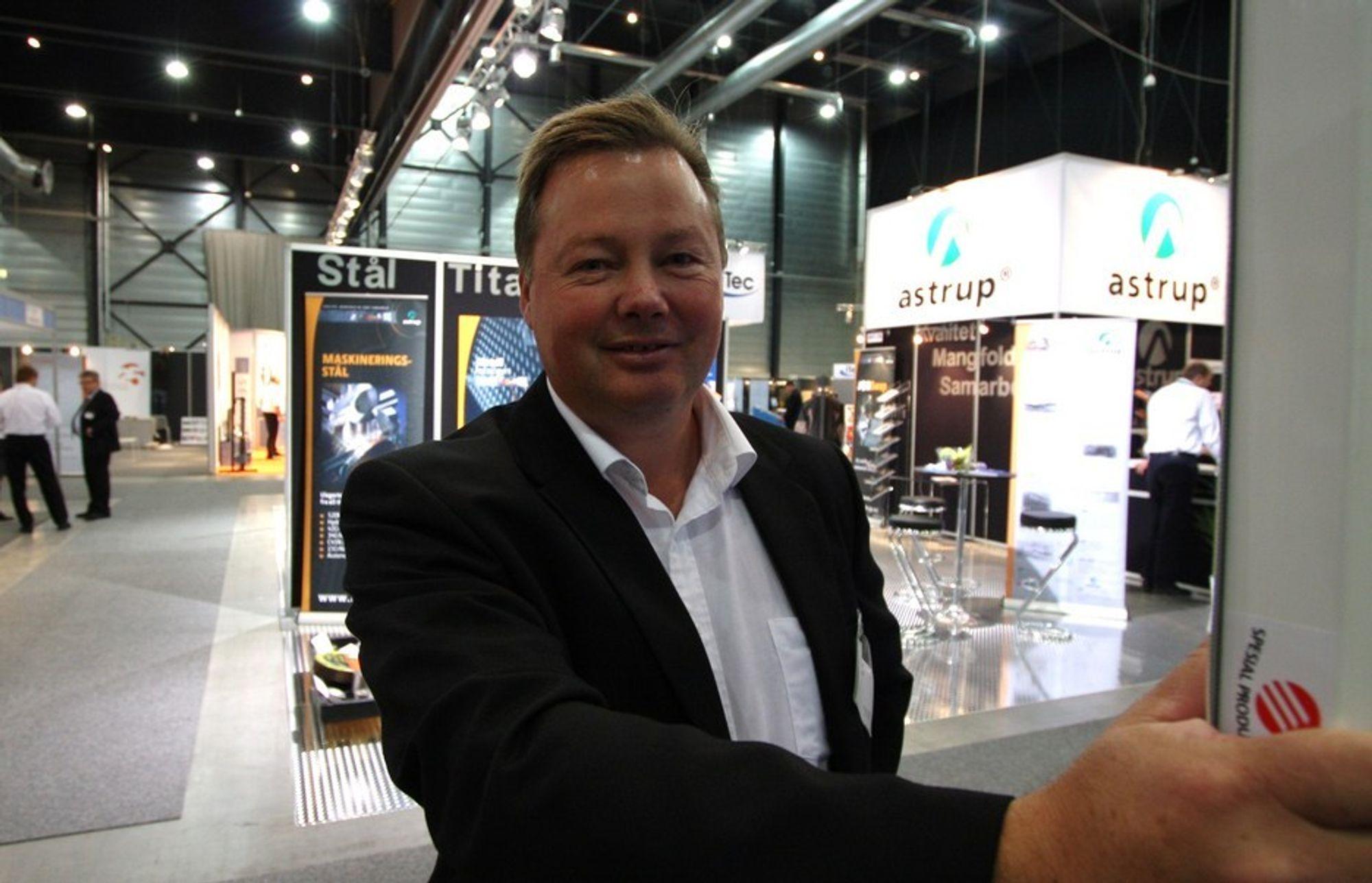 Ove-Johan Aklestad, daglig leder i Ofir, fortalte seminardeltakerne på Den tekniske messen om Rogalands rekrutteringssuksess.