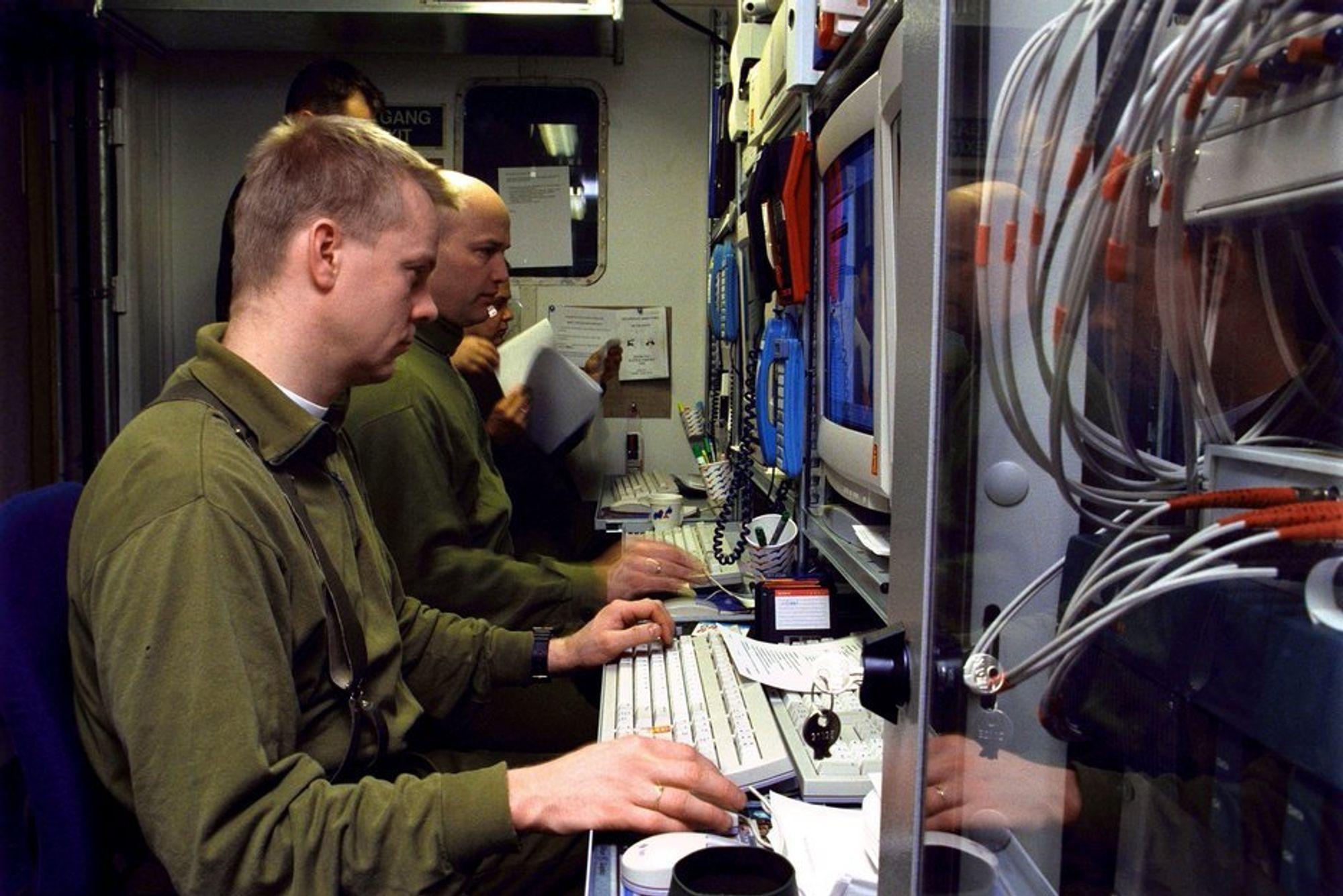 Enklere. Forsvarets datasystemer skal bli mindre forvirrende for brukerne.Foto: Forsvaret