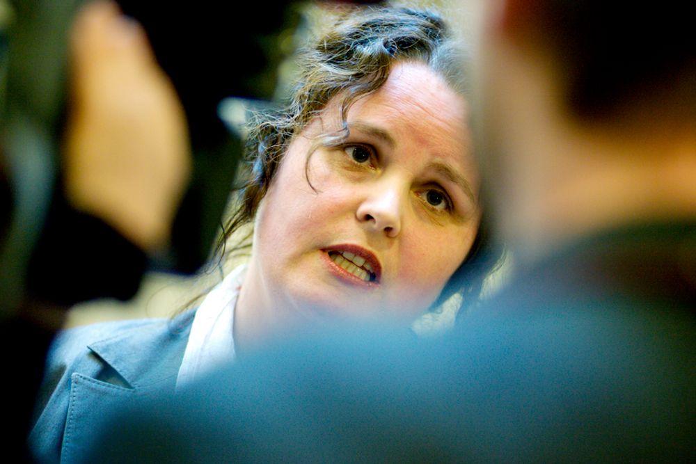 OGSÅ EKSPORTKONTRAKTER: Regjeringen ved næringsminister Sylvia Brustad (Ap) utvider låneordningen til eksportrettet industri.