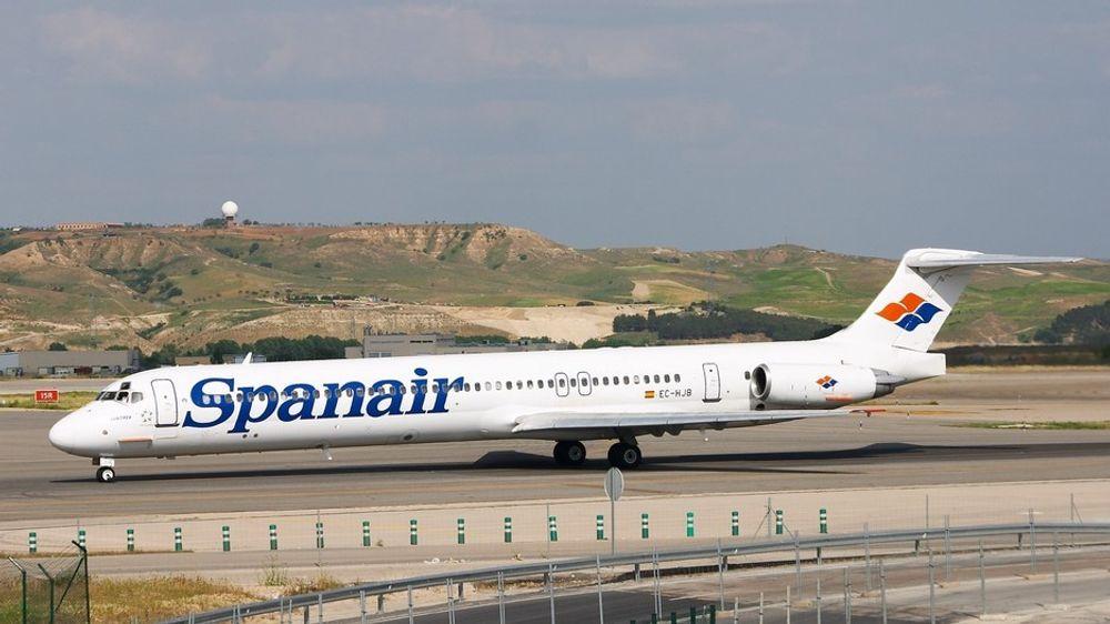 Det var et slikt fly, en McDonnell Douglas MD-82, som styrtet på Barajas-flyplassen i Madrid 20. august 2008.
