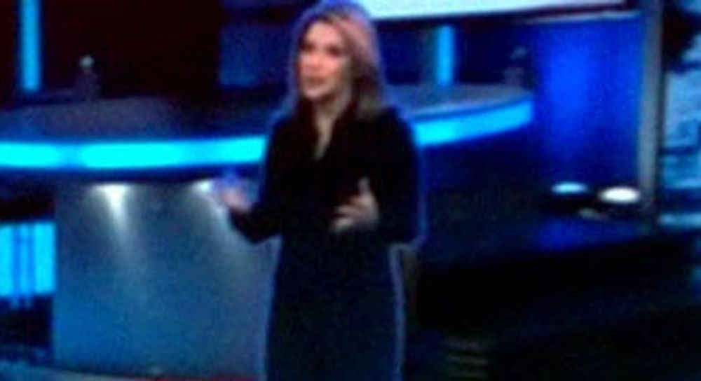 CNN Star Wars hologram.