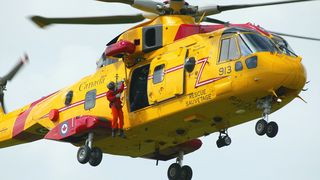 Redningshelikopter mer på verksted enn i lufta
