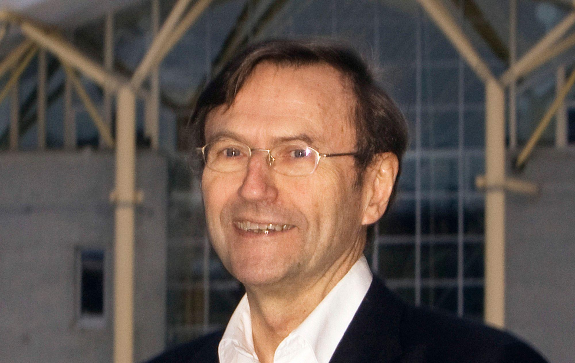 Jarle Aarbakke, rektor ved Universitetet i Tromsø.