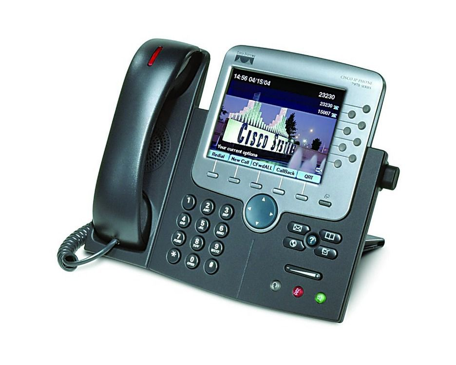 IP-telefon Cisco.